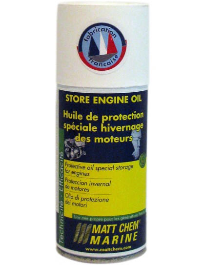 STORE ENGINE OIL