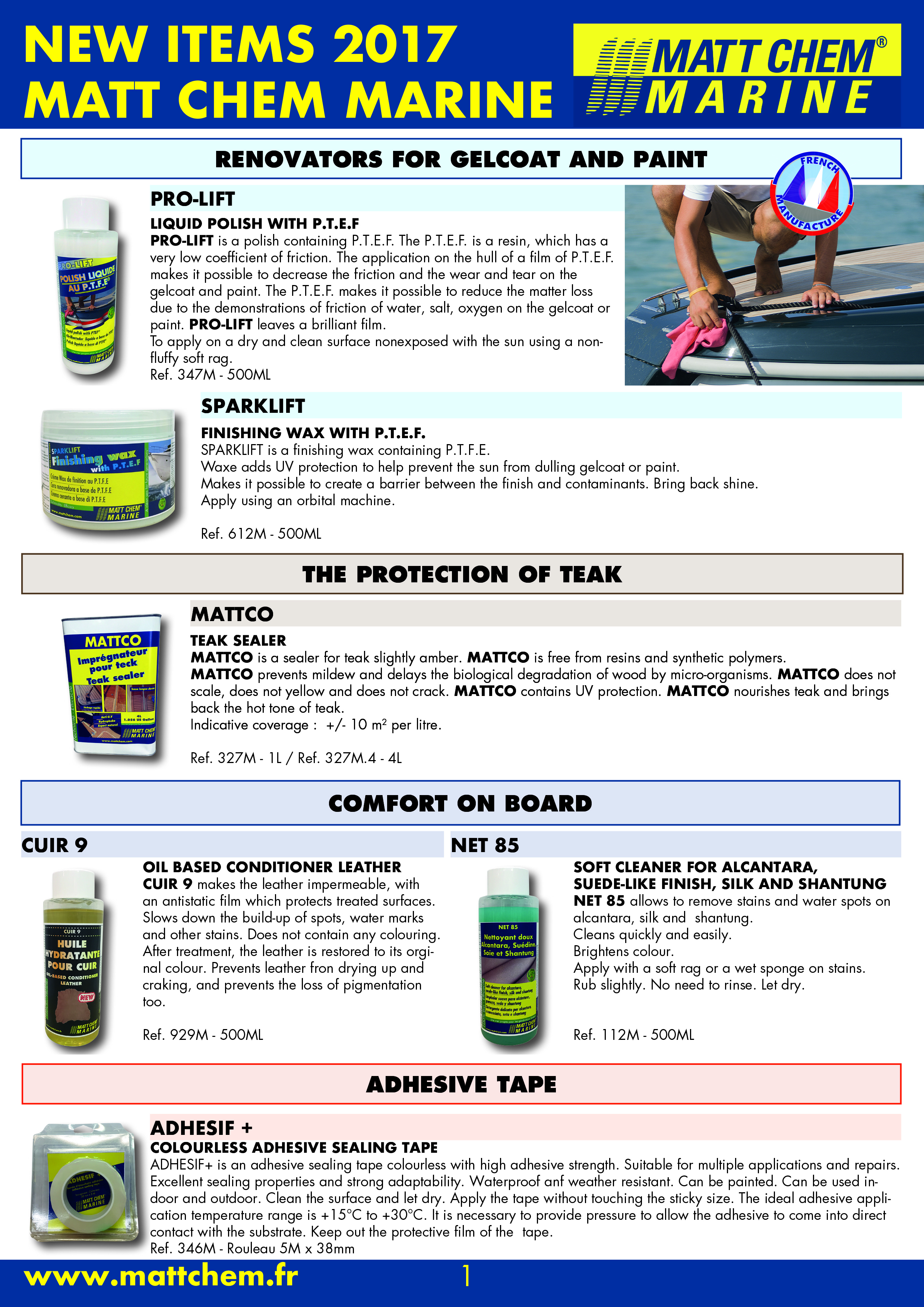 NEW PRODUCTS - PAGE 1